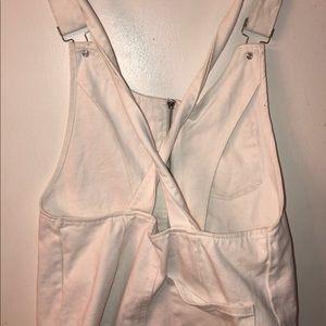 Forever 21 Dresses - Overall White Dress